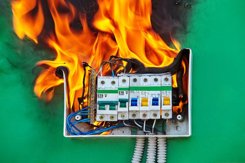 Home Inspection Henderson Fire Hazard